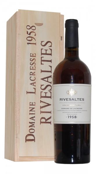 Wein 1958 Rivesaltes Domaine Lacresse