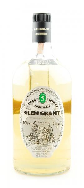 Whisky 1985 Glen Grant Scotch 5 years 2 Liter