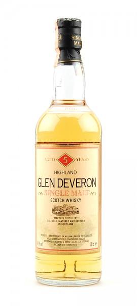 Whisky 1986 Glen Deveron 5 years old