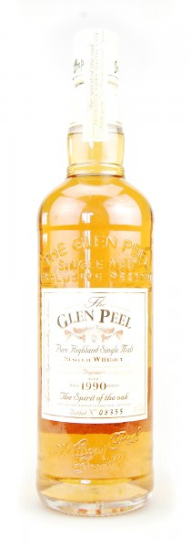 Whisky 1990 Glen Peel Highland Single Malt