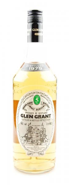 Whisky 1979 Glen Grant Malt Whisky 5 years 1 Liter
