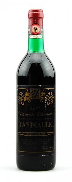 Wein 1977 Chianti Classico Candialle