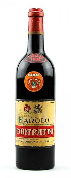 Wein 1965 Barolo Contratto