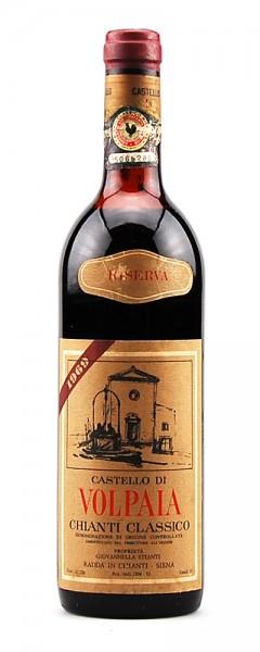 Wein 1969 Chianti Classico Riserva Castello di Volpaia