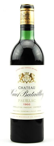 Wein 1966 Chateau Haut-Batailley 5eme Grand Cru Classe