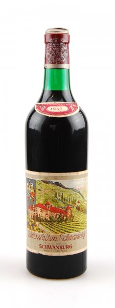 Wein 1957 Schlossleiten Schwanburg
