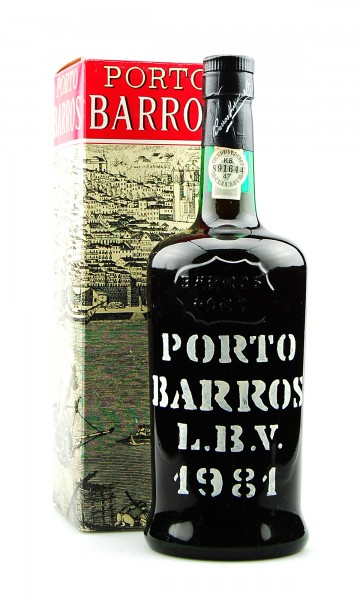 Portwein 1981 Porto Barros Late Bottled Vintage