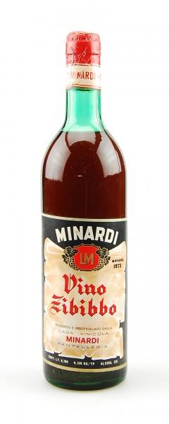 Wein 1973 Vino Zibibbo Minardi Pantelleria