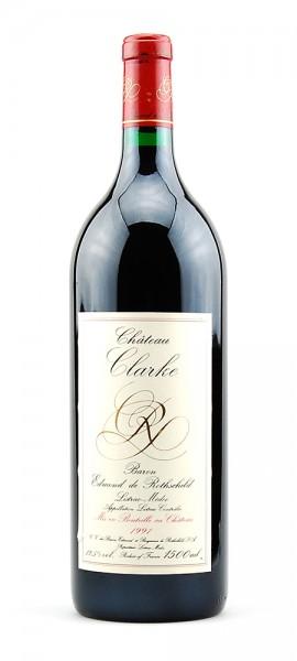 Wein 1991 Chateau Clarke Edmond de Rothschild 1,5 L