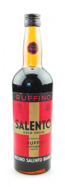 Wein 1949 Salento Ruffino Gold Cross Vino Liquoroso