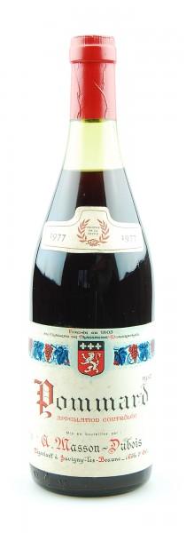 Wein 1977 Pommard Masson-Dubois