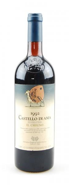 Wein 1992 Il Chiuso Castello di Ama