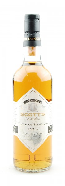 Whisky 1963 North of Scotland Single Grain Whisky