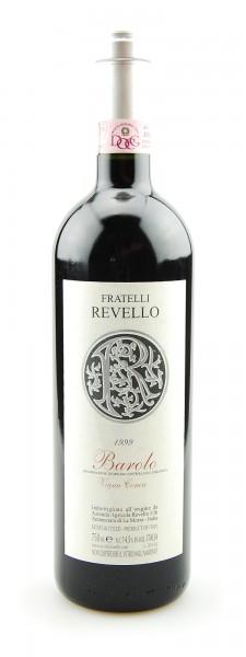 Wein 1999 Barolo Vigna Conca Fratelli Revello
