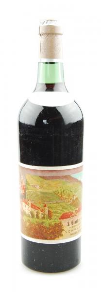 Wein 1951 S. Giustina scelto Schwanburg