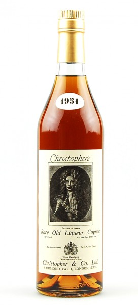Cognac 1951 Christophers Rare-Old