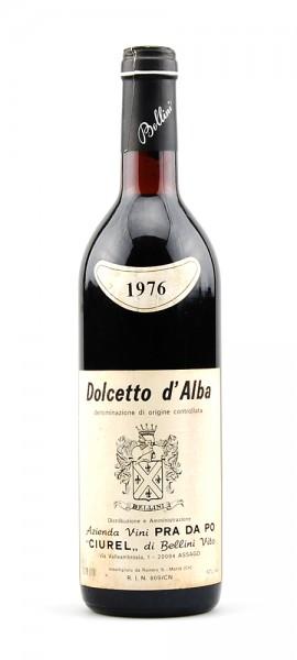 Wein 1976 Dolcetto d-Alba Pra da Po Ciurel di Bellini