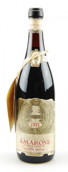 Wein 1973 Amarone Santa Sofia Reciotto Valpolicella