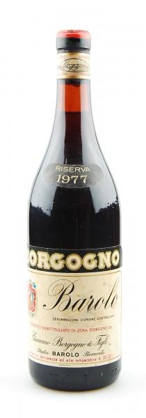 Wein 1977 Barolo Riserva Giacomo Borgogno