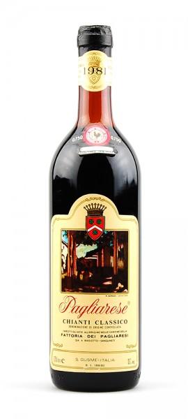 Wein 1981 Chianti Classico Pagliarese