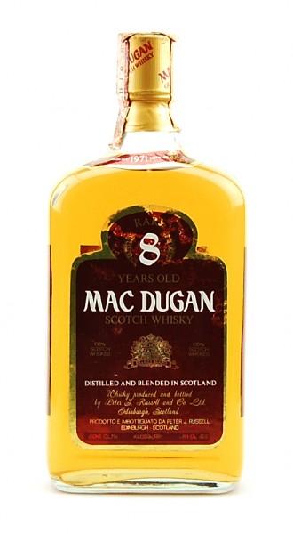 Whisky 1971 Mac Dugan Rare 8 Years Blended Scotch
