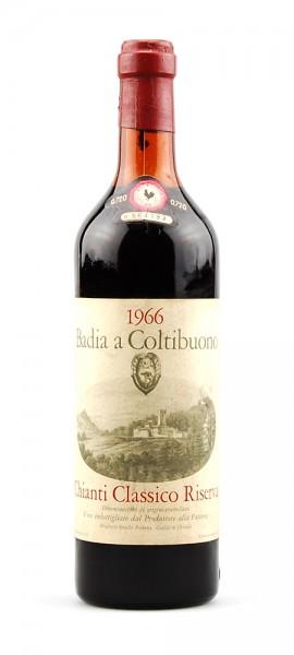 Wein 1966 Chianti Classico Badia a Coltibuono Riserva