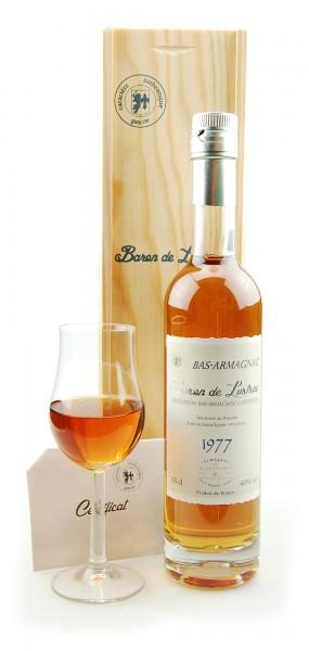Armagnac 1977 Bas-Armagnac Baron de Lustrac