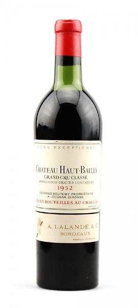 Wein 1952 Chateau Haut-Bailly Grand Cru Classe