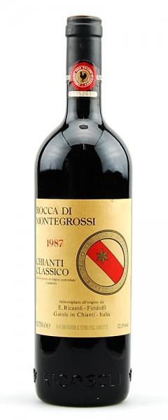 Wein 1987 Chianti Classico Rocca di Montegrossi