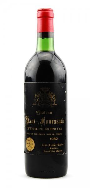 Wein 1980 Chateau Haut-Fonrazade