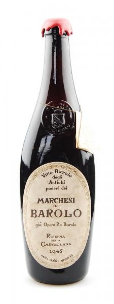 Wein 1945 Barolo Riserva Marchesi di Barolo Gia Opera