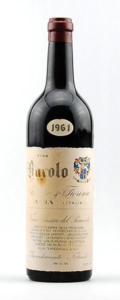 Wein 1961 Barolo Franco Fiorina