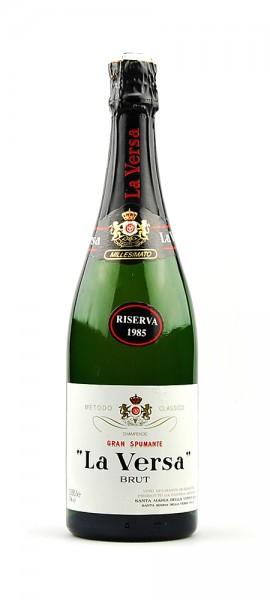 Wein 1985 Gran Spumante Riserva Brut La Versa