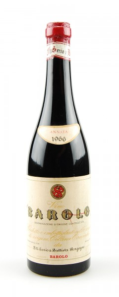 Wein 1966 Barolo F.lli Serio & Battista Borgogno
