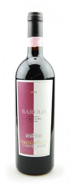 Wein 1999 Barolo Tenuta Carretta