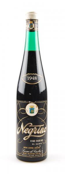Wein 1948 Vino Rubino Negrino Leone de Castris