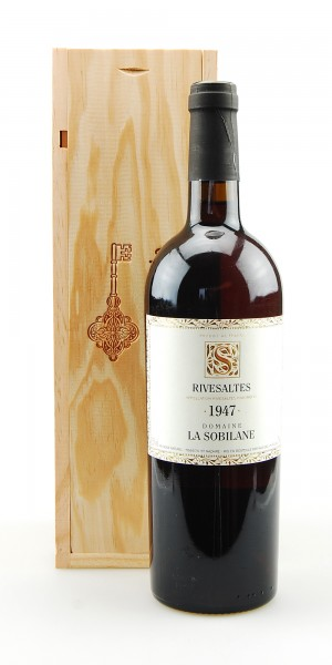 Wein 1947 Rivesaltes Domaine La Sobilane