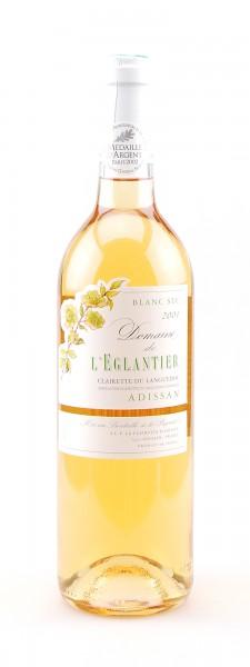 Wein 2001 Clairette du Languedoc Eglantier Adissan