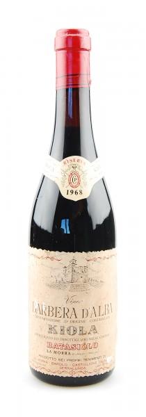 Wein 1968 Barbera d´Alba Riserva Kiola Batasiolo
