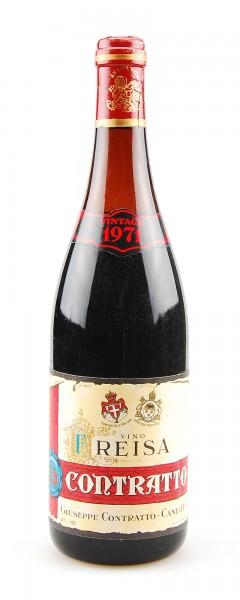 Wein 1971 Freisa Giuseppe Contratto