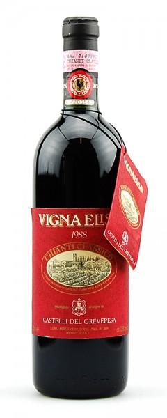 Wein 1988 Chianti Classico Castelli del Grevepesa
