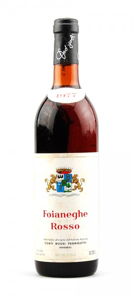 Wein 1977 Foianeghe Conti Bossi Fedrigotti