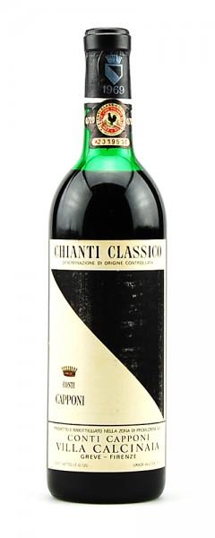Wein 1969 Chianti Classico Conti Capponi