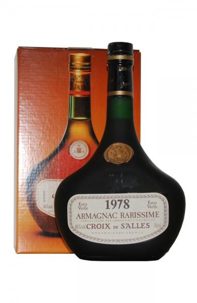 Armagnac 1978 Croix de Salles