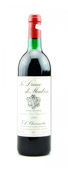 Wein 1993 La Dame de Montrose Saint-Estephe