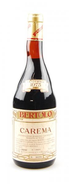 Wein 1975 Carema Riserva Lorenzo Bertolo