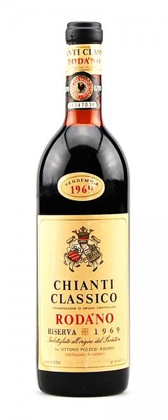 Wein 1969 Chianti Classico Riserva Rodano