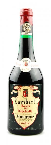 Wein 1969 Amarone Recioto della Valpolicella Lamberti