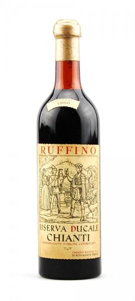 Wein 1966 Chianti Classico Ruffino Riserva Ducale