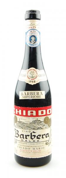 Wein 1968 Barbera d´Alba Mario Chiado